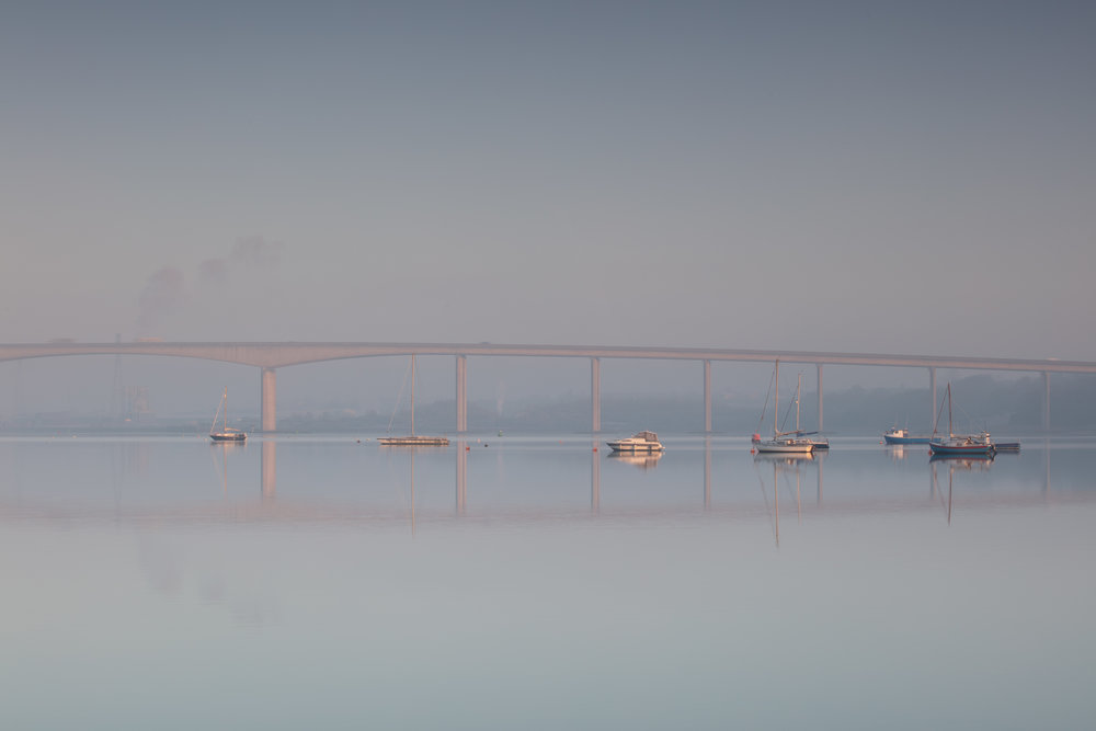 Gleaming Reflections, River Orwell, Suffolk.