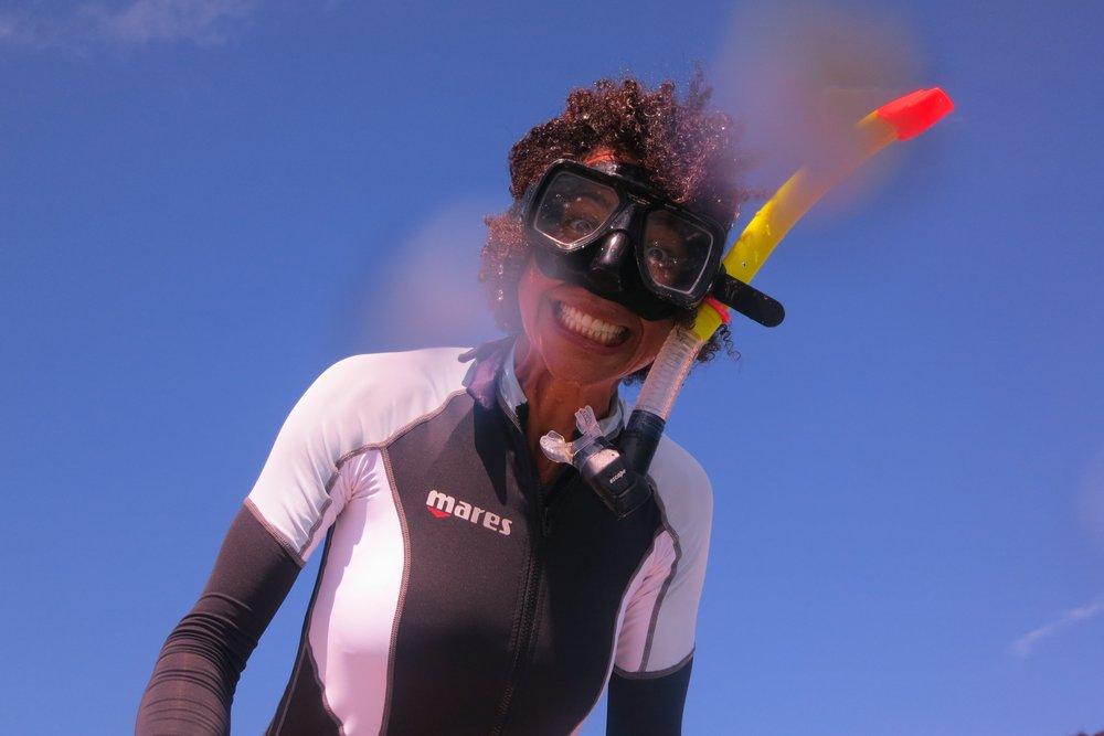 Snorkeling in Barbuda - 2013 - Courtesy: Ayana Elizabeth Johnson