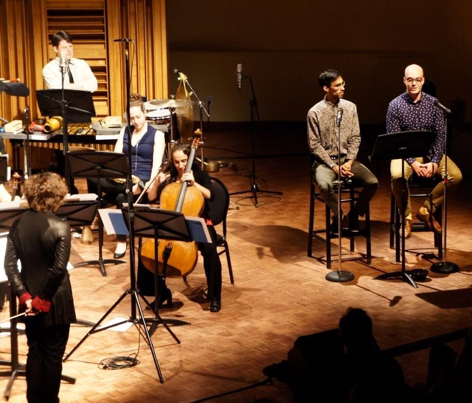 On tour with Ensemble contemporain de Montréal. Visit  ecm.qc.ca