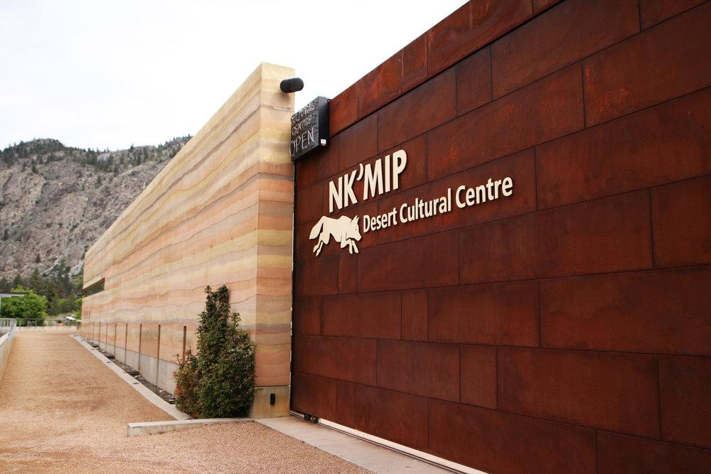 Nk'Mip Desert Cultural Centre, Osoyoos Photographer: Meghan Reading