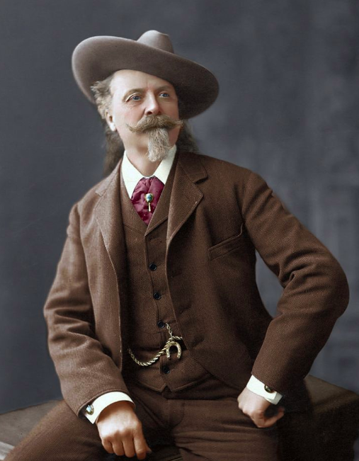 Buffalo Bill - Vers 1900 - source reddit.com Buffalo Bill - vers 1900 - source reddit.com