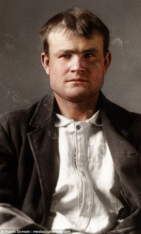 Butch Cassidy - Butch Cassidy - 1894 - http://www.dailymail.co.uk