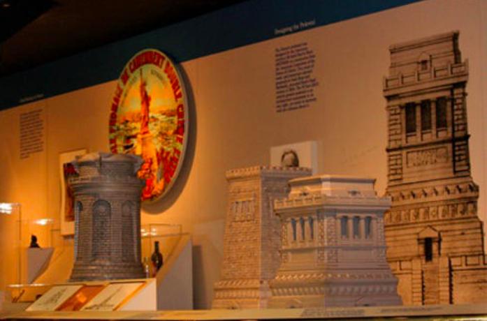 Les maquettes de Morris Hunt - Musée de la statue NYC