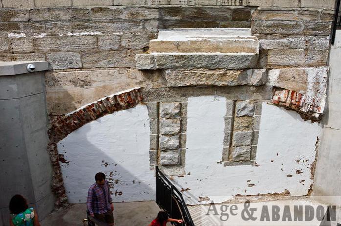 Vestiges ancien Fort Wood - source: A ge&abandon