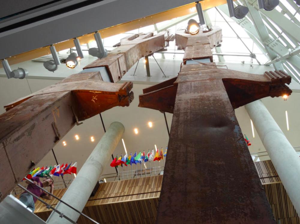 Pavilion - Les tridents - WTC Memorial Museum