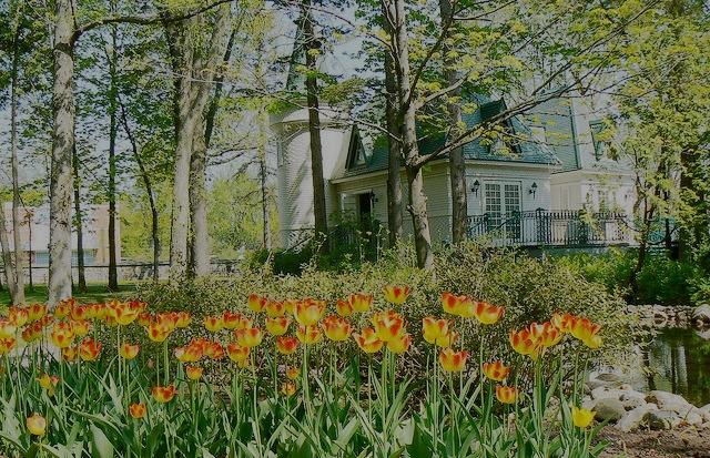 Parc du bois-de-Coulonge - Lieux historiques du 17ème siècle, verdure, fleurs et arbres