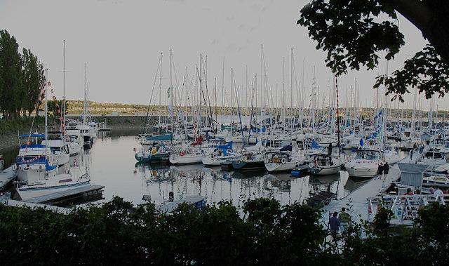 Yacht Club de Québec - Se balader ou mouiller l'ancre
