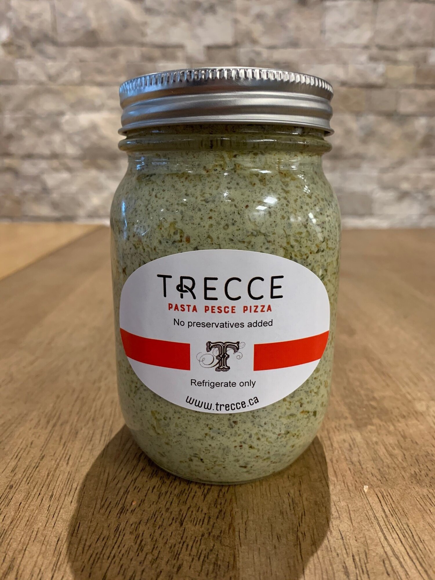Pesto Creamy Sauce 500ml Trecce Post