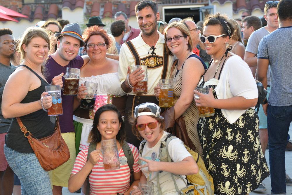 from Biergarten to Big Top!   Oktoberfest St. Louis   Sept. 28 - 30, 2018   Learn More