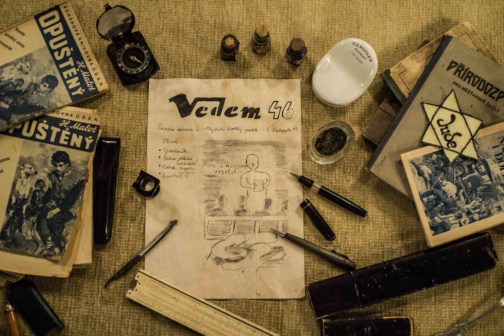 Vedem, a literary magazine published by schoolboys in Teresienstadt.