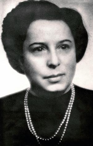 Gisi Fleischmann, leading member of the Bratislava Working Group