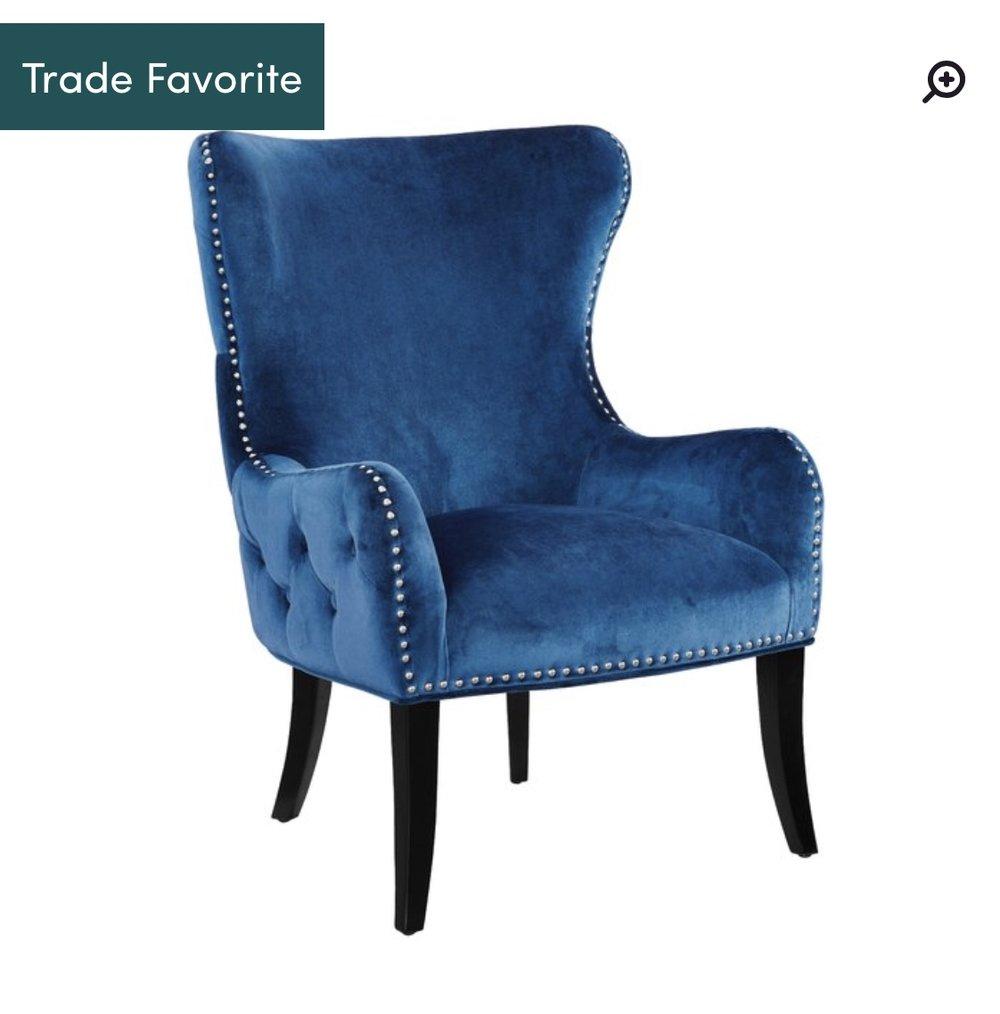 Schwartz Wingback Chair -