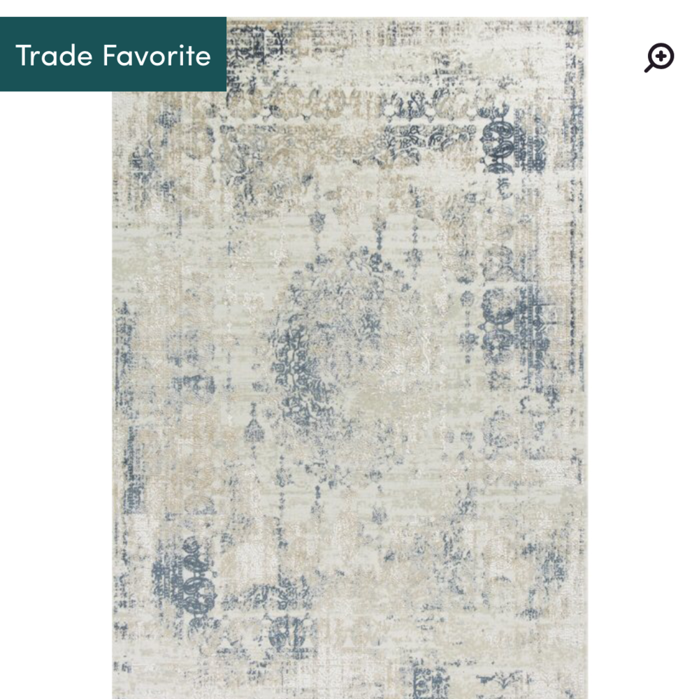 Eva Antiquities Rug (more expensive than the others but worth it) -