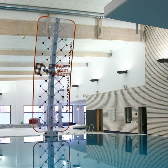 AquaClimb®Sport - A sleek design with climbing experience up to 27 feet high!