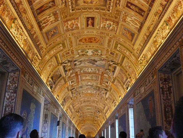 The Gallery of Maps, Vatican Museum, Vatican City