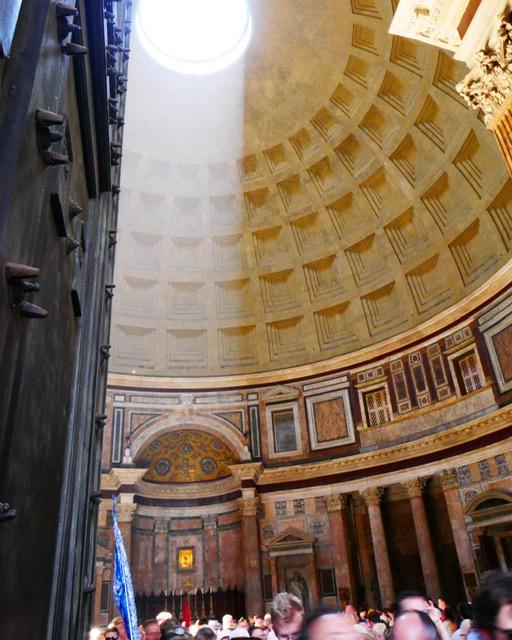 The Pantheon, interior, Rome