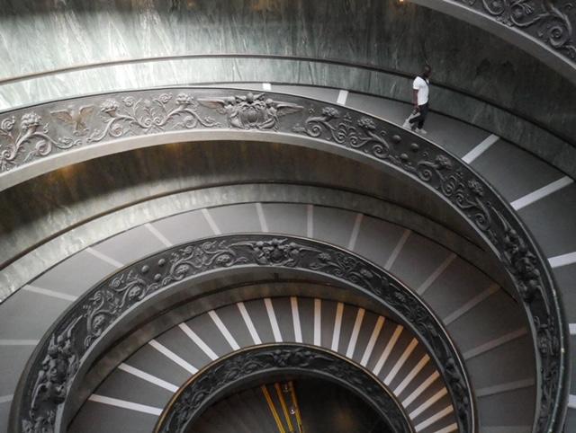 The Vatican Stairwell, Vatican City