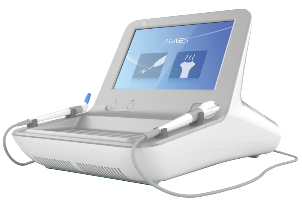 Agnes RF - Transformative technology that gives physicians the ability to provide in-office solutions without the need for surgery