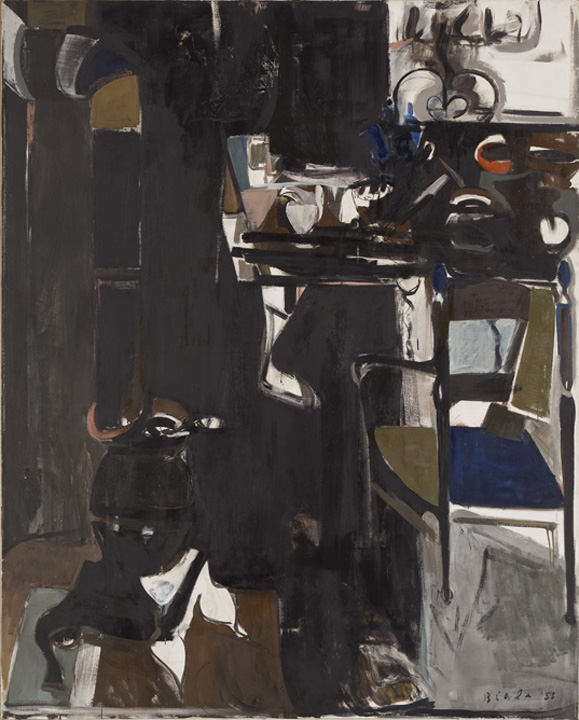 Black Interior (Cold Water Flat), 1955
