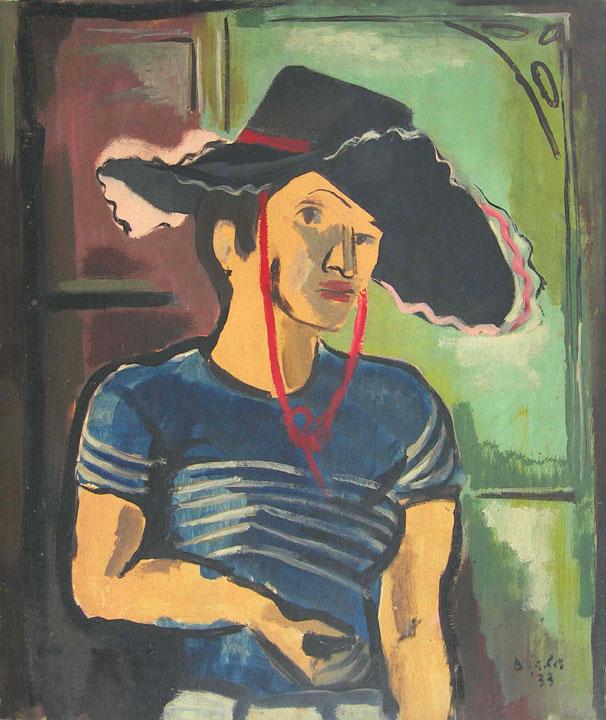 Jeune Femme (Self Portrait), 1933