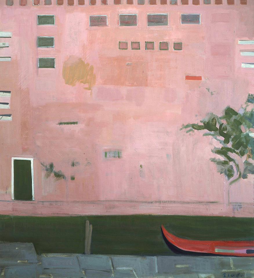Le Mur Rose, Venice (The Pink Wall, Venice), 1982