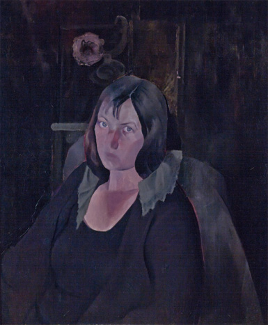 Edwin Dickinson Portrait of Biala, nee Janice Tworkov (1924) Oil on canvas, 30 x 25 in. (76.2 x 63.5 cm) Private Collection, New York