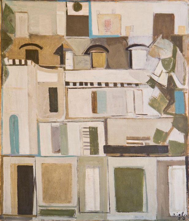 White Facade, 1950