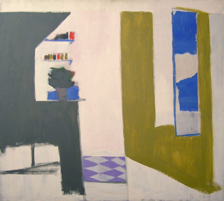Kitchen with Purple Floor I, 1969