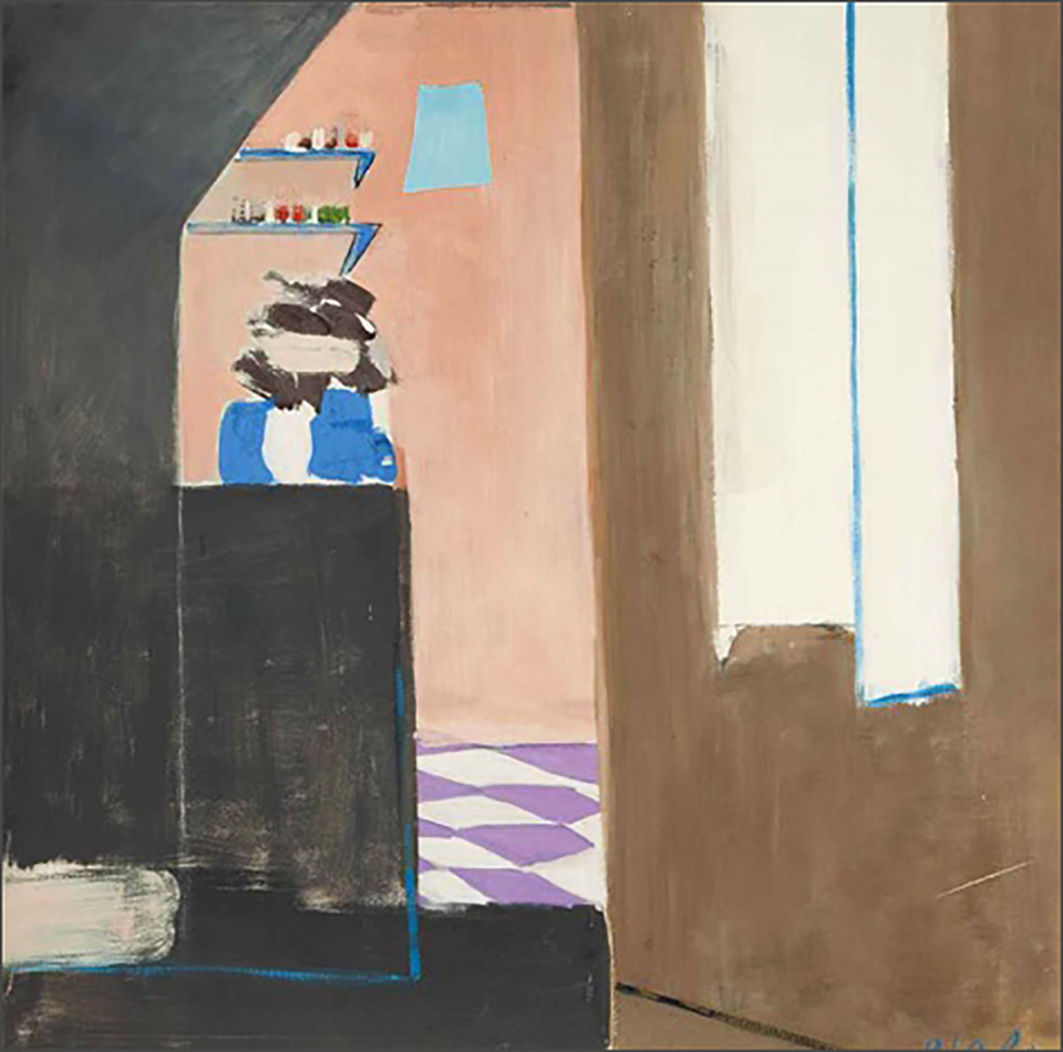 Kitchen with Purple Floor II, 1969