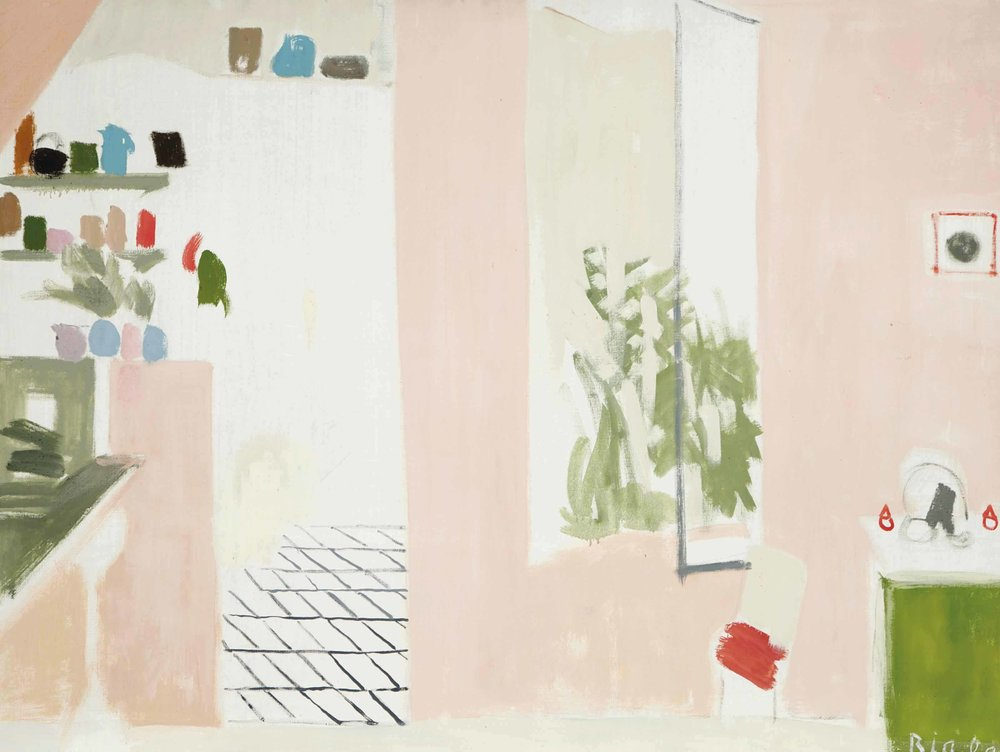 La Cuisine Rose (The Red Kitchen), 1969