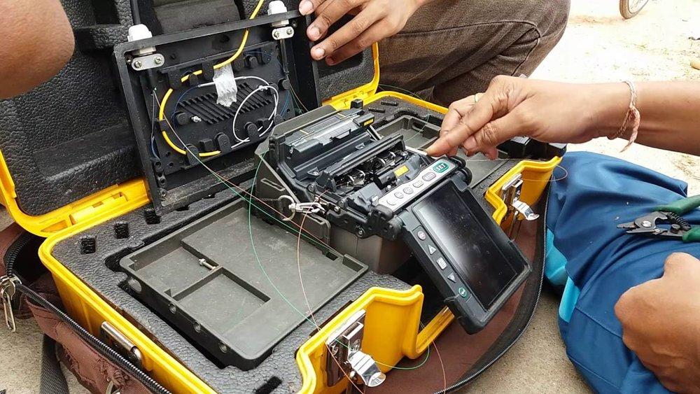 Fiber Optic Splicing