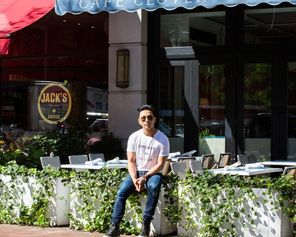 COVETEUR - A walk around the block with Prabal Gurung