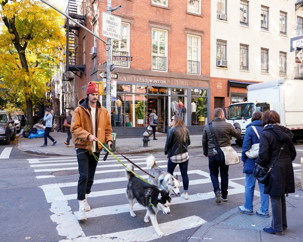 The new york times - The Return Of Bleecker St