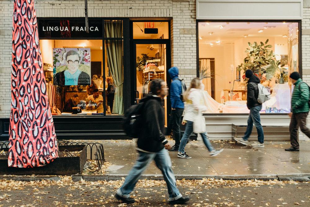 WWD - Lingua Franca Opens First Store on Bleecker