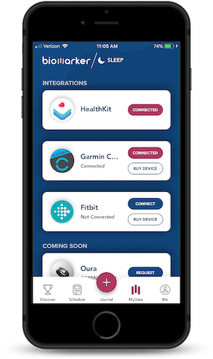 Biomarker App Data Connections