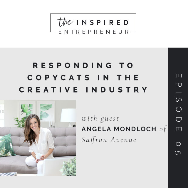 Responding to Copycats in the Creative Industry with Angela Mondloch of Saffron Avenue