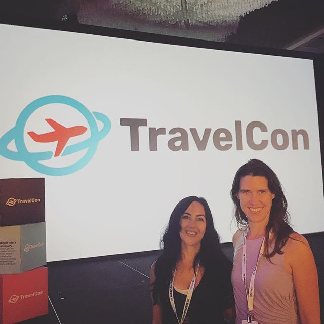 Fabulous first day at #travelcon18 Great speakers - chock full of content and inspiration.  #travelbloggers