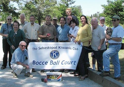 Bocce Ball Court - at Libby Park