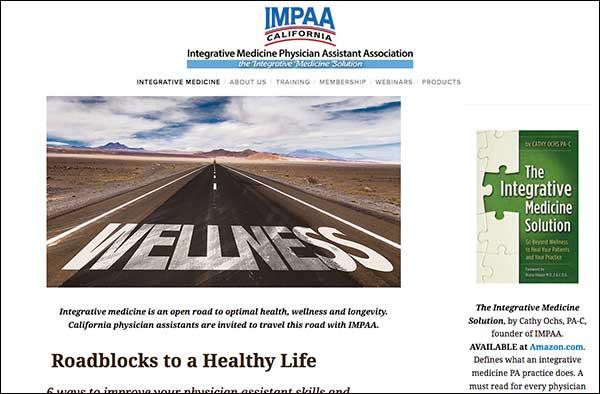 IntegrativeMedicinePhysicianAssistant.com  designed by  Barb's Website Design .