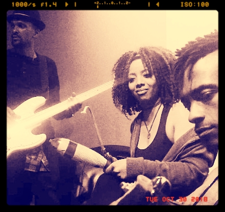 """YBSNRA  &  Keir Anotinette  at  SAE Recording Stuidos   """"Recording in the studio together is our biggest high. There is nothing like a collaborative effort with people you have a solid chemistry with."""" -  Keir Antoinette"""