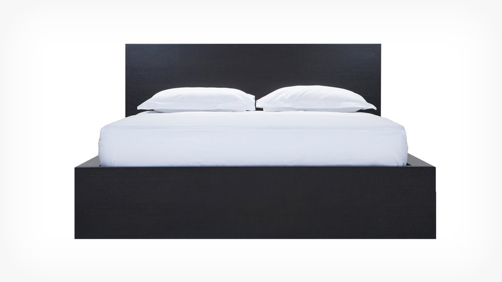 Simple Bed w/ Panel Headboard