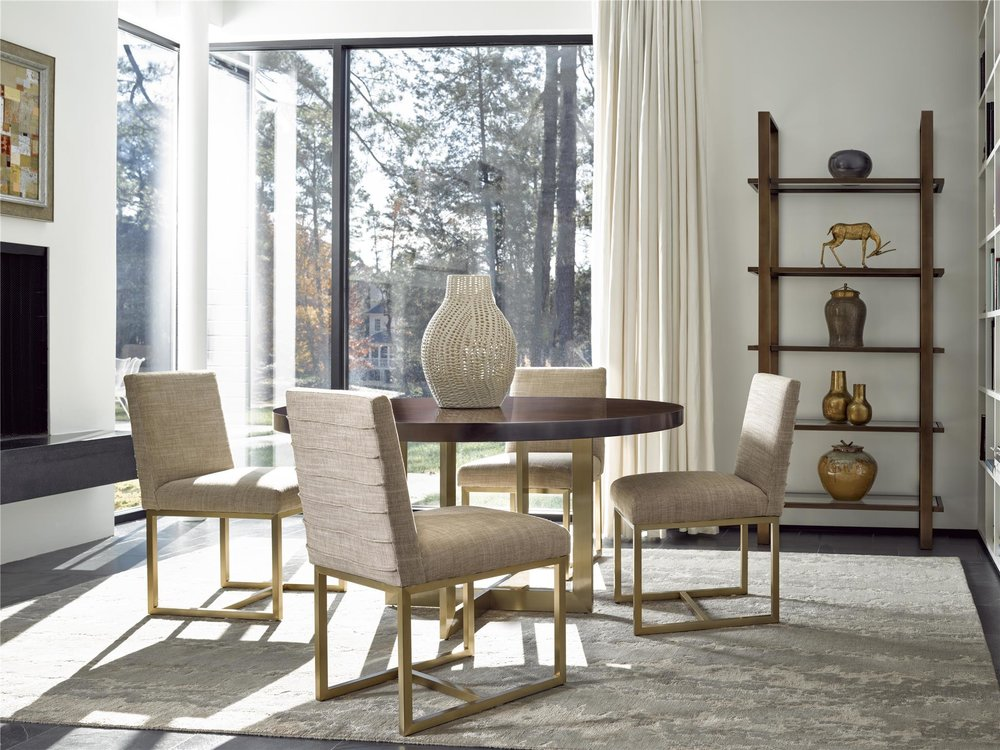 Modern Gibson Round Dining Table