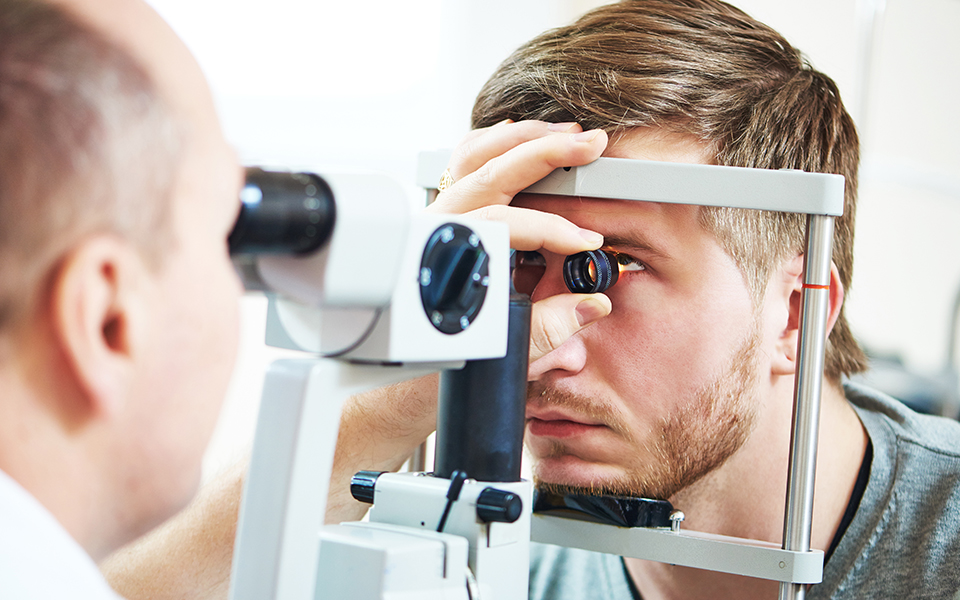 Complete Eye Exam - Annual complete eye exams are important to help detect eye diseases and systemic diseases. At Elevation Vision we strive to make the eye exam as painless as possible and check eye pressure without the