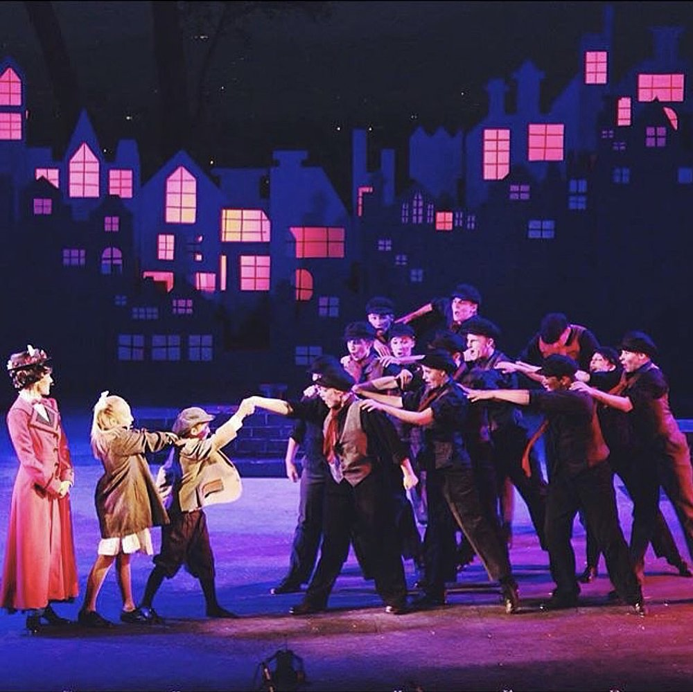 Disney's Mary Poppins  with CCT Choreographed by Kyle Hawk