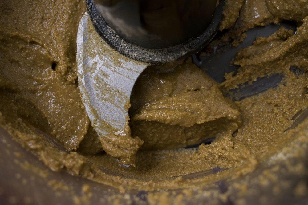 Gingerbread peanut butter | shutupeatthis.com