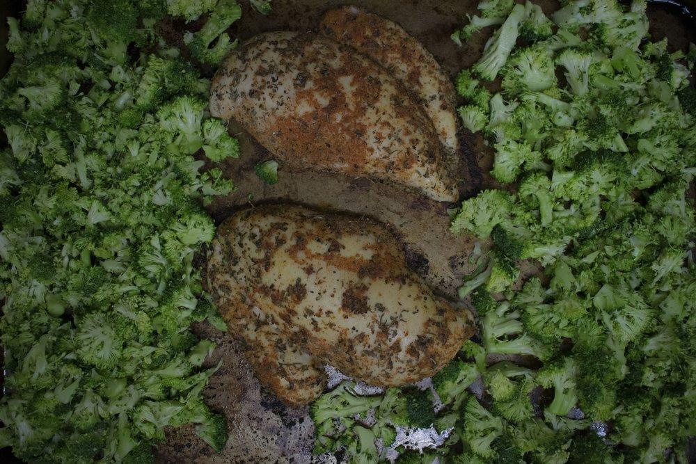 Broccoli chicken salad | shutupeatthis.com