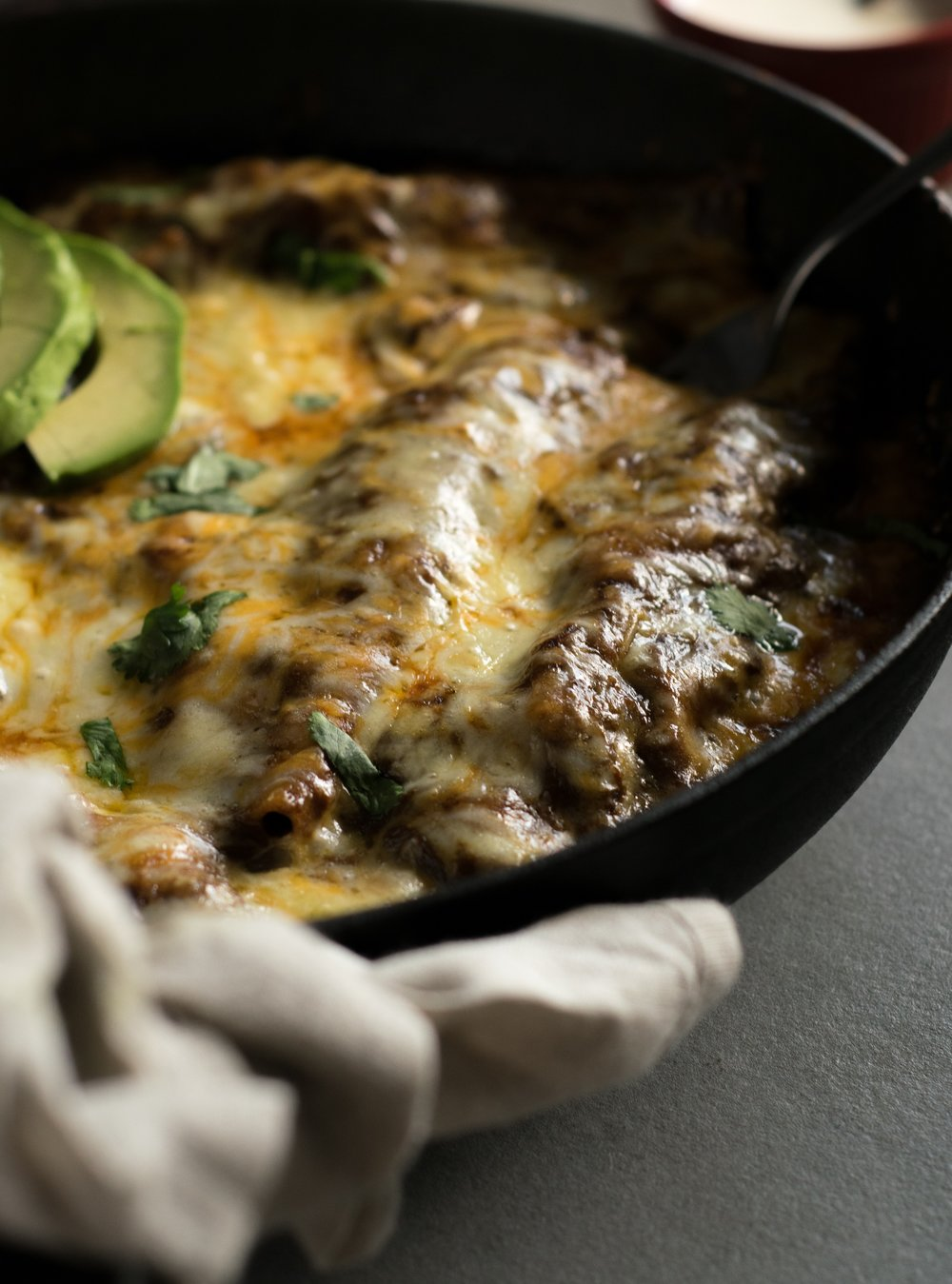 Potato enchiladas | shutupeatthis.com