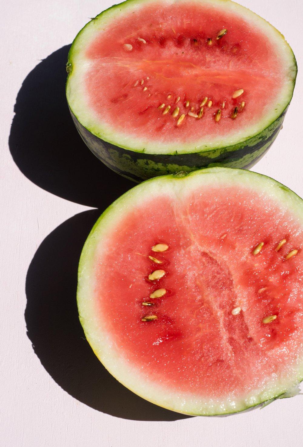 Watermelon & Halloumi Salad | shutupeatthis.com