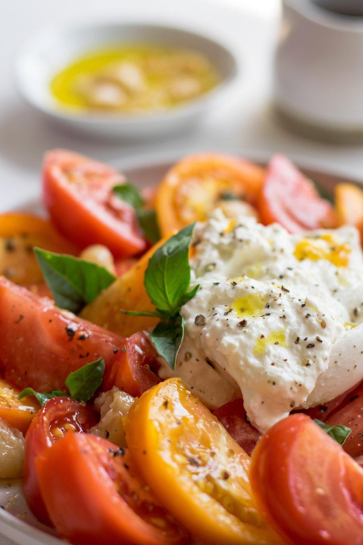 Best Tomato Summer Salad | shutupeatthis.com