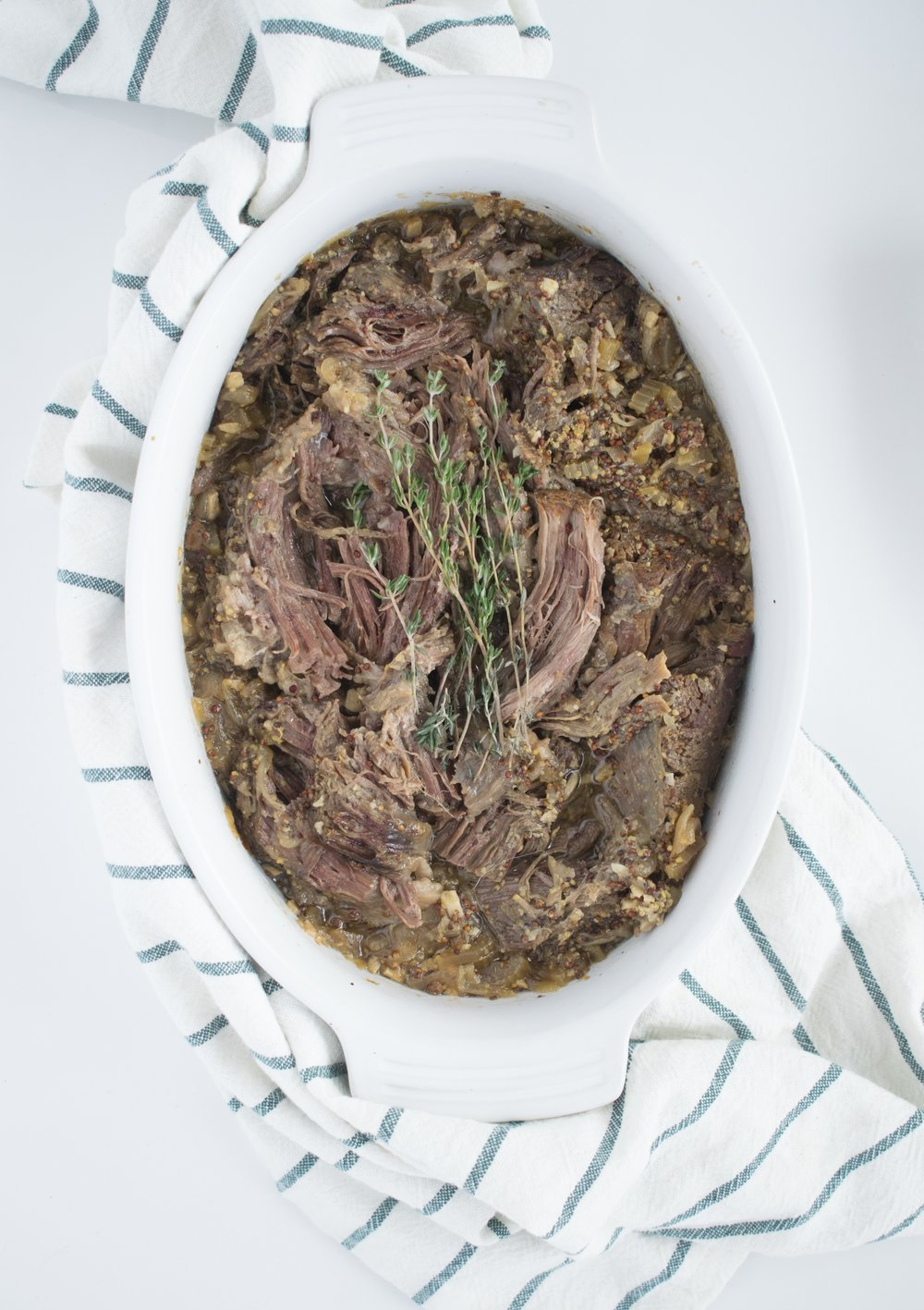 Perfect Fall Apart Oven Roast Beef | www.shutupeatthis.com